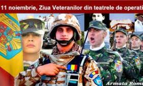 A fost întocmită metodologia de aplicare a L 168/2020 privind veteranii din teatrele de operații
