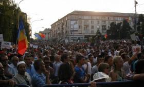 Miting anti-Băsescu la Craiova