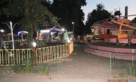 Parcul Romanescu, copii şi cocina