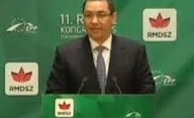Ponta i-a convins pe UDMR-işti să lupte împotriva UDMR