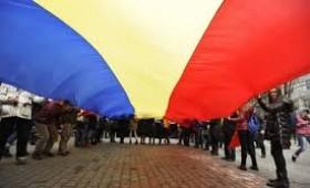 Protest  împotriva dezbinării românilor
