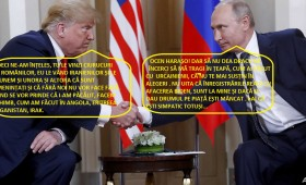 Trump și Putin, doi lideri care își cunosc interesele
