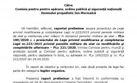 Raportul comisiei pentru muncă şi protecţie socială din Camera Deputaţilor-amendamentele admise